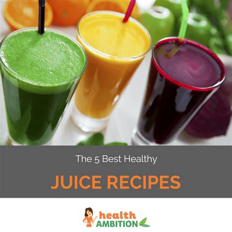 juice healthy recipes drink fruit health juicing vegetable should why cancer veggies them ambition healthambition