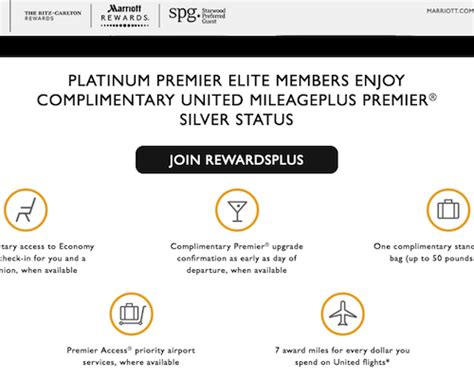 rewardsplus  marriott rewards  united mileageplus