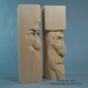wood spirit carving project  introduction classic