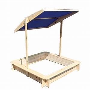 S Mit Dach : holz sandkasten sandkiste mit dach verstellbar wow ebay ~ Lizthompson.info Haus und Dekorationen