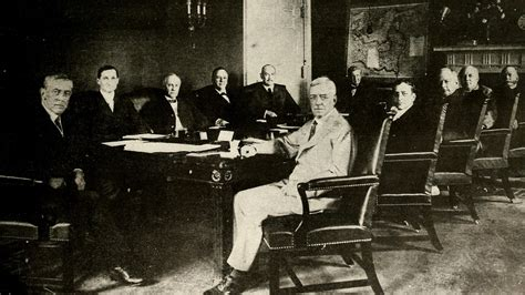 woodrow wilson administration cabinet members