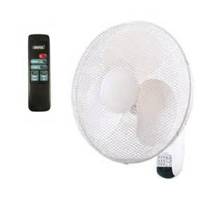 wall mount fan with remote control draper 75098 fan7 16 wall mounted remote control fan