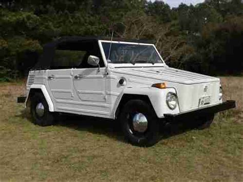 Buy New 1973 Vw Type 181 Thing Solid Daily Driver In