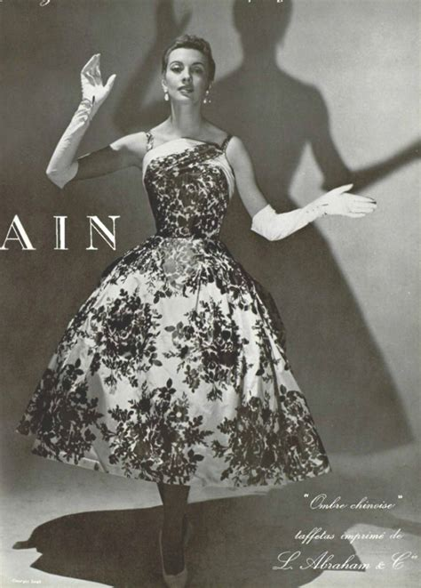 1955 pierre balmain inspirational vintage fashion in