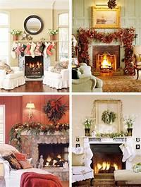 mantel christmas decorations 33 Mantel Christmas Decorations Ideas - DigsDigs