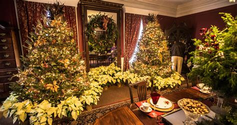christmas  boone hall plantation boone hall plantation