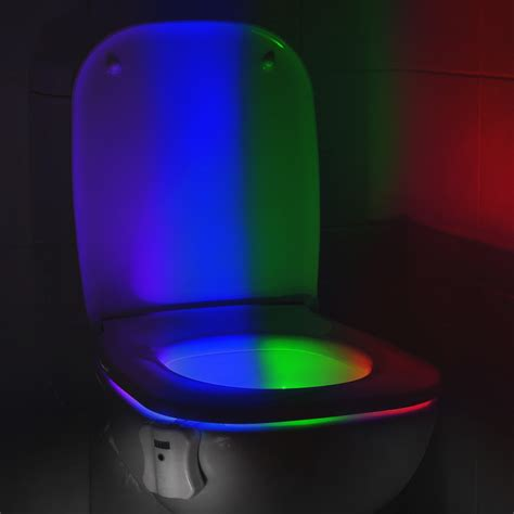 Motion Activated Decorations Uk by Auraglow Motion Activated Toilet Light Supplies