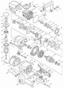 Makita Da4031 Parts List