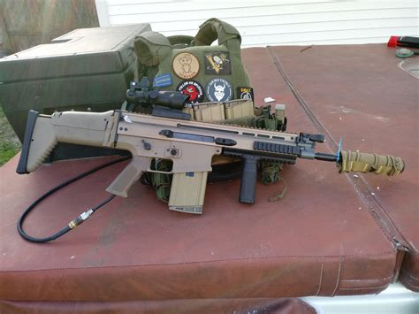 My Completed SCAR H Build : airsoft
