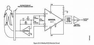 phase shifting the common mode signal from an With ecg circuit