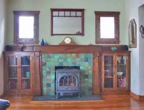1920s Fireplace Tiles by If We Put In Smaller Windows And Put Bookshelves Under We