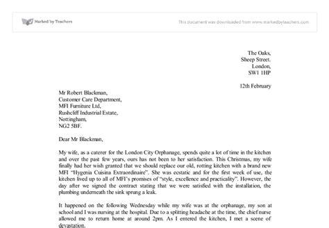 letter  complaint essay spm write  essay
