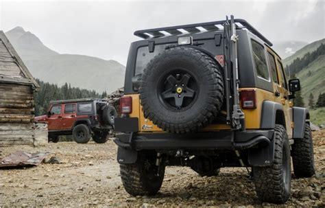 aev jeep rear bumper aev rear bumper and tire carrier for jeep wrangler jk