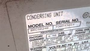 1993 Coleman Evcon Condensing Unit - 8  20  14