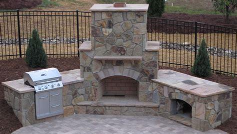 easy affordable outdoor fireplace design plans outdoor living space