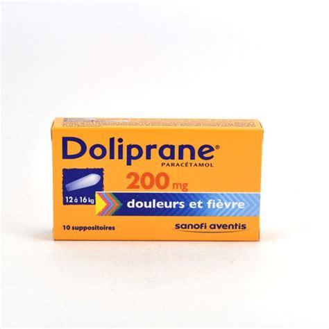 doliprane paracetamol 200 mg child suppositories 12 16 kg