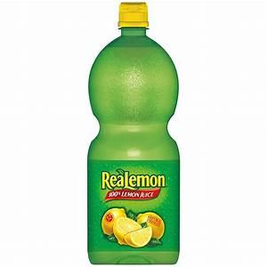 Realemon 100% Lemon Juice 48 Fl. Oz. Bottle | Jet.com