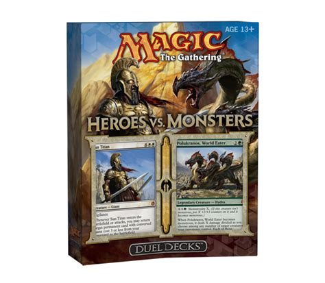 Duel Decks Heroes Vs Monsters Box