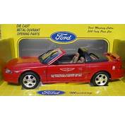 Ford Mustang 1994 Indy 500 Pace Car Rare