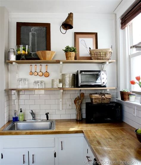 Open Keuken Sa by How To Make The Most Of A Tiny Kitchen Decoholic