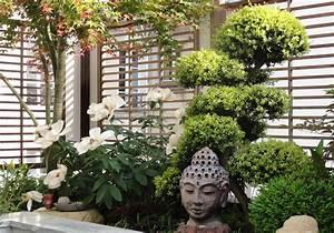 terrasse japonaise zen With good amenagement petit jardin exotique 0 terrasse bois exotique jardin zen et fontaine youtube