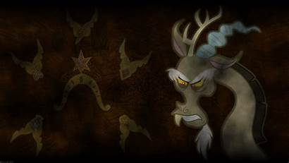 Discord Magic Pony Chaos Friendship Brown Wallpapers