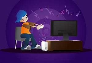 Person Playing Video Games Clipart (16+)