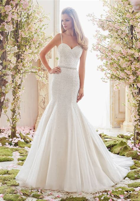 Mori Lee Voyage 6835 Wedding Dress