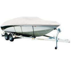 Tahoe 195 Deck Boat Cover by Exact Fit Covermate Sharkskin Boat Cover For Tahoe 195