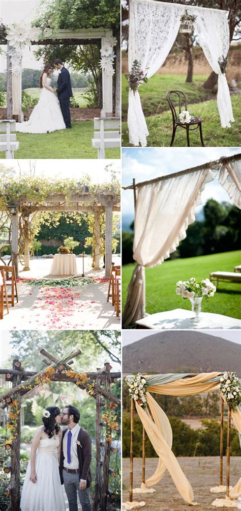 ideas  decorar tu boda  yute wedding decor ideas