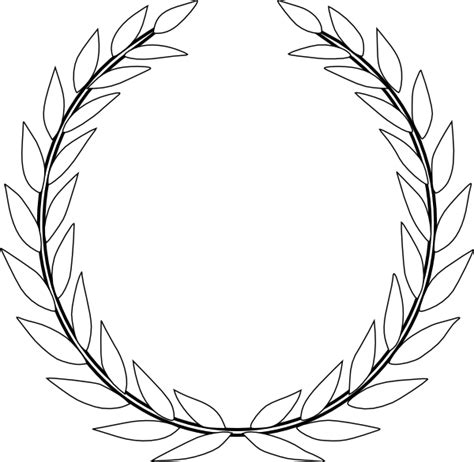 Green Olive Branch Cd Clip Art At Clker.com