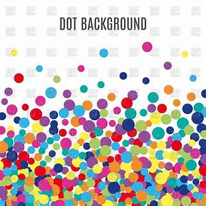 Colorful dots background Vector Image #126878 – RFclipart