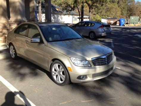 Sell Used Mercedes Benz C300 Luxury With Every Available