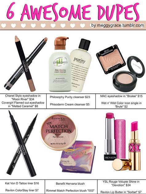 ideas  dupe makeup  pinterest beauty dupes cheap makeup  drugstore makeup dupes
