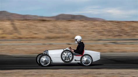 Bugatti introduces the baby ii electric roadster priced at under $35,000. Bugatti Baby II First Drive Review: 42 MPH Has Never Felt So Fast