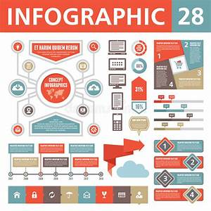 Infographics Elements 18 Stock Vector  Illustration Of Statistic