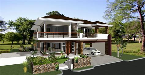 Modern House Designs And Floor Plans Philippines Beautiful