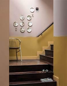 peinture pour escalier interieur meilleures images d With decoration peinture murale couleur
