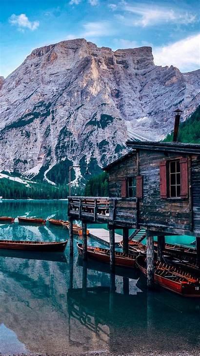 4k Europe Wildsee Pragser Italy Lake Travel