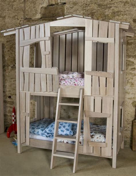 tree house bunk bed girly rooms   kid beds