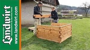 Wie Baut Man Ein Hochbeet : video hochbeet bauen ~ Frokenaadalensverden.com Haus und Dekorationen