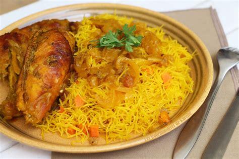 recette de cuisine petit chef vermicelles au poulet une recette 100 sénégalaise