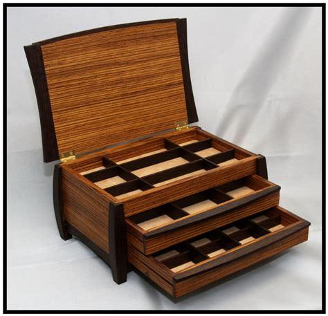 zebrawood wenge jewelry box woodworking jewellery box