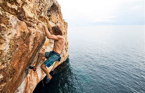 Clif Athlete Chris Sharma Climbing