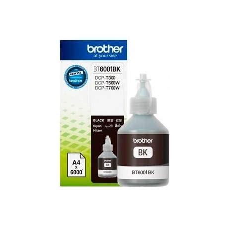 Printer Dcp T500w Black botellas de tinta bt6001bk black sistema continuo