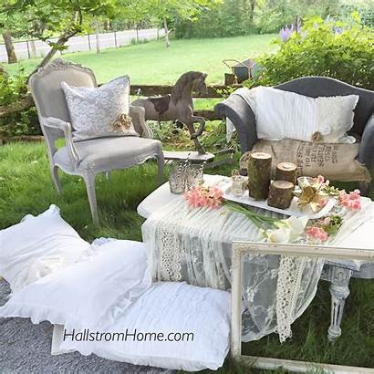 Bohemian Party Garden Decor Hallstrom Furniture