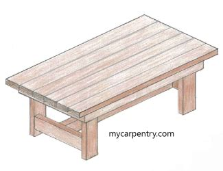 wood work simple coffee table plans easy diy