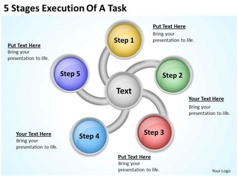 business process workflow diagram  task powerpoint