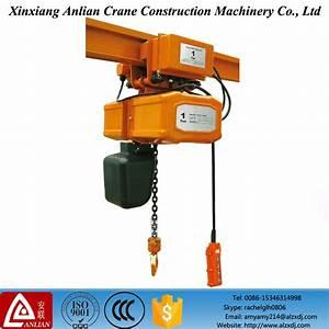 China Monorail Beam Manual Mini Electric Chain Wire Rope