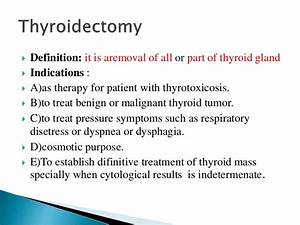 Thyroid Surgery Important